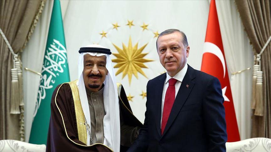 Başkan Erdoğan, Suudi Arabistan Kralı Selman ile telefonda görüştü