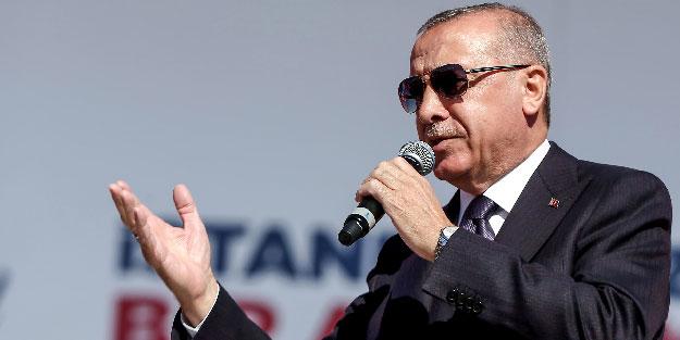 Başkan Erdoğan, tarihi mitingde müjdeleri art arda sıraladı