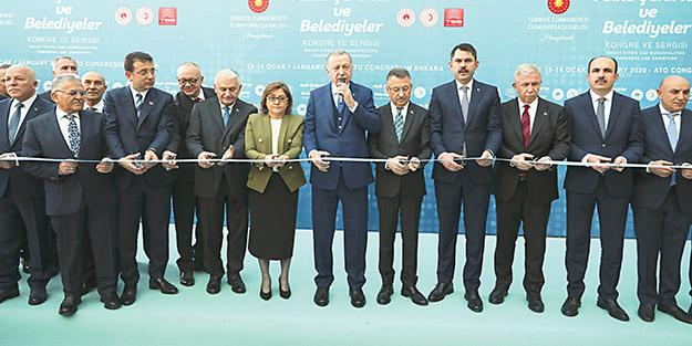 Başkan Erdoğan: Vicdanlı ve akıllı şehirler kuracağız