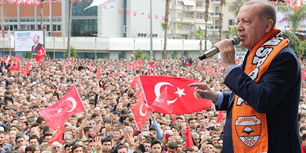 Başkan Erdoğan: Zillet ittifakını ayaklarımızın altına alacağız