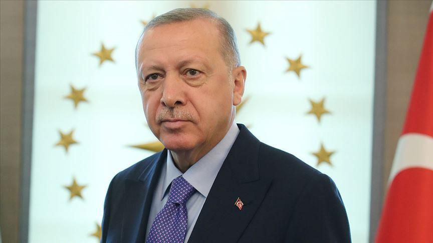 Başkan Erdoğan'dan '10 Kasım' mesajı