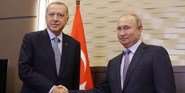Başkan Erdoğan'dan ateşkes isteyen Putin'e ayar