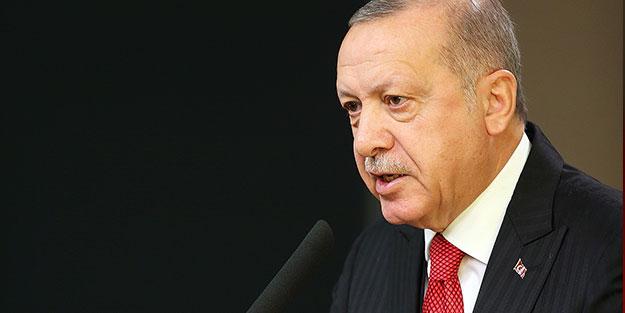Başkan Erdoğan'dan çok sert tepki: Asla izin vermeyeceğiz