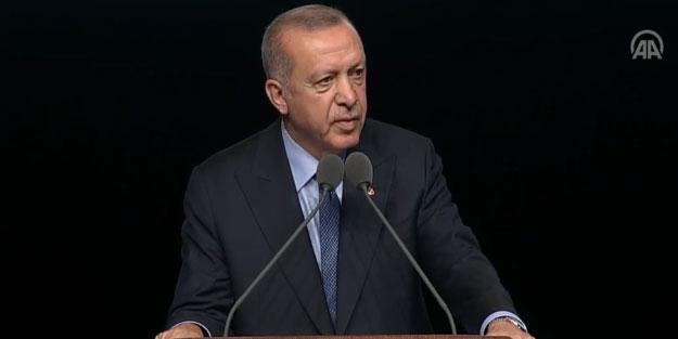 Başkan Erdoğan'dan flaş sözler!