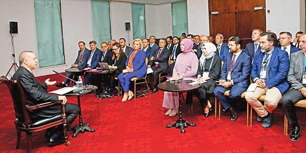 Başkan Erdoğan'dan Kılıçdaroğlu'na sert eleştiri: Vatanseverlik diye bir derdi yok