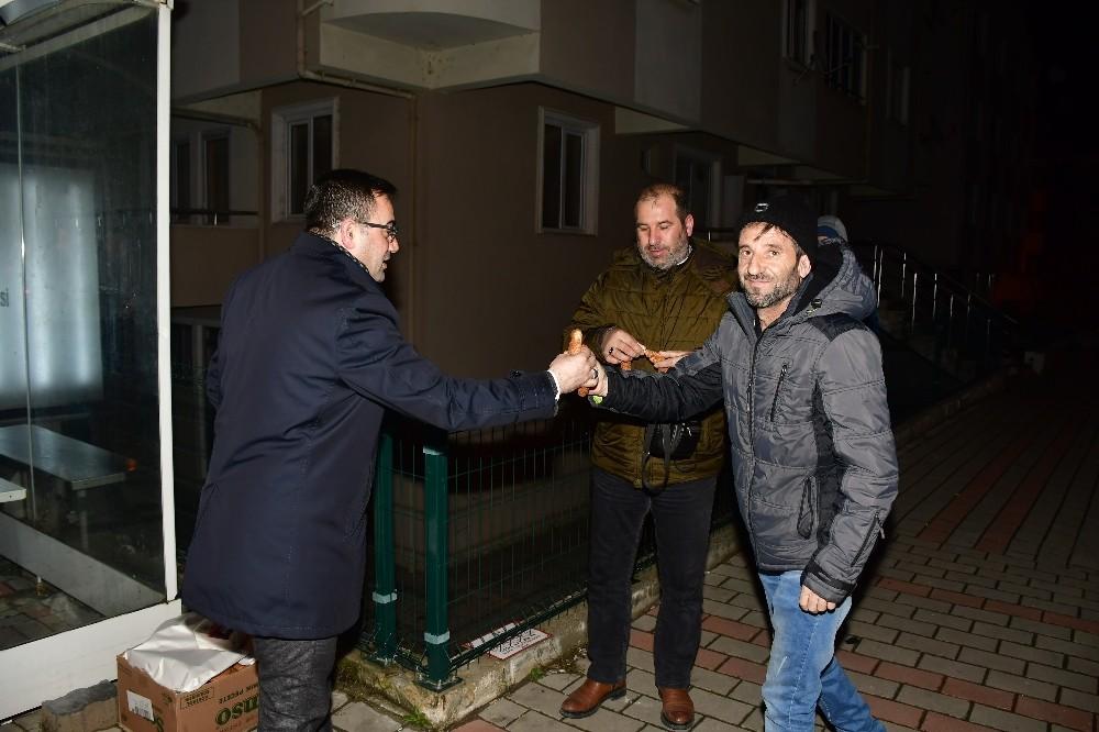 Başkan Erdoğan'dan sabah çıkarması