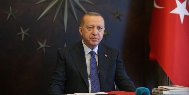 Başkan Erdoğan'dan 'kararlılık' mesajı
