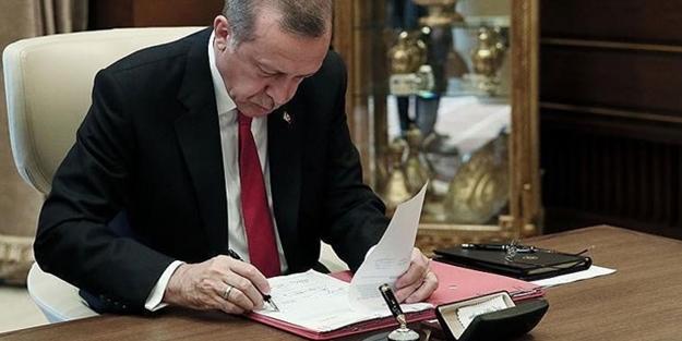 BAŞKAN ERDOĞAN'IN ATAMALARI RESMİ GAZETE'DE