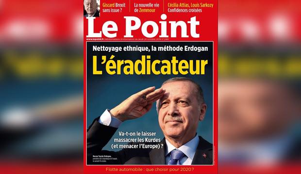 Fransa'dan skandal adım! O dergiye ödül verdiler