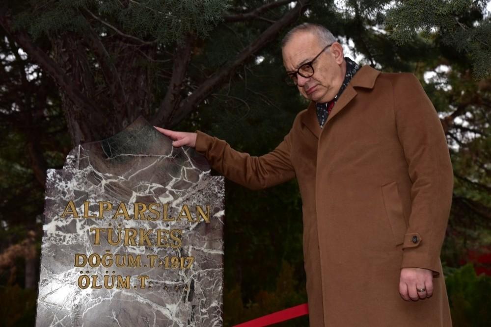 Başkan Ergün, Alparslan Türkeş'i andı