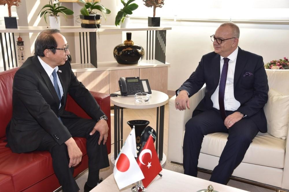 Başkan Ergün, Japonya İstanbul Başkonsolosunu ağırladı
