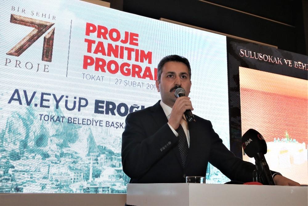 Başkan Eroğlu, 71 projesini açıkladı