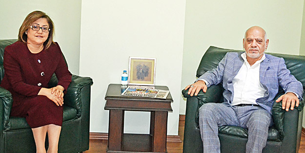 Başkan Fatma Şahin'den Akit'e ziyaret