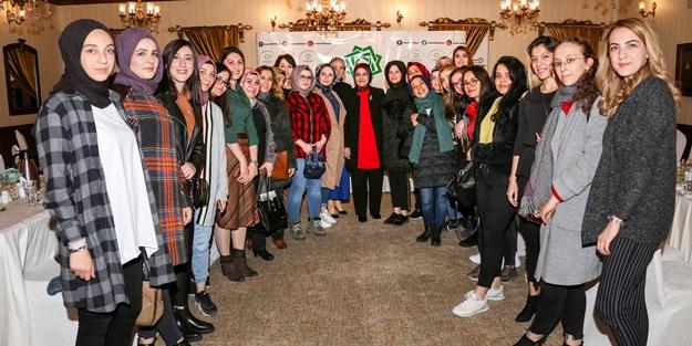 Başkan Fatma Toru kadın medya mensuplarıyla buluştu