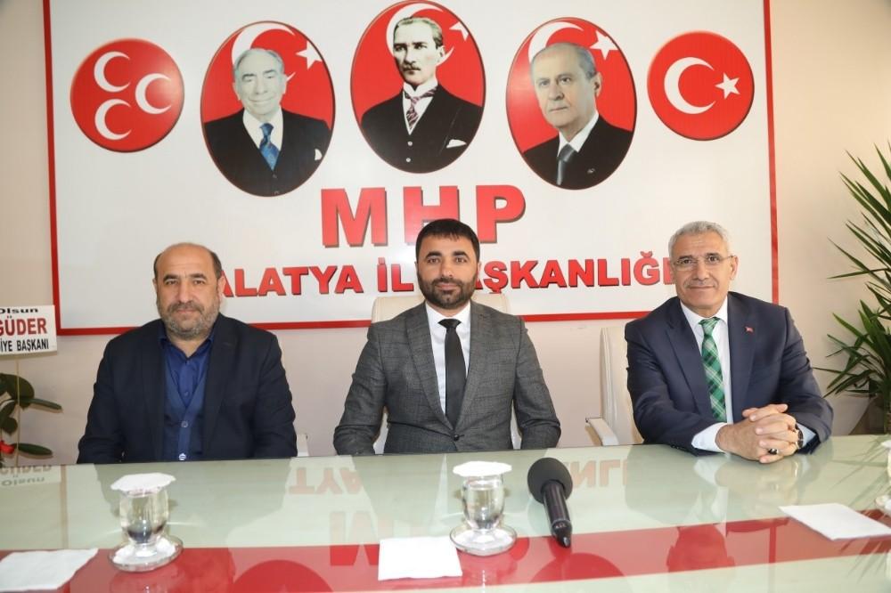 Başkan Güder'den MHP'ye ziyaret