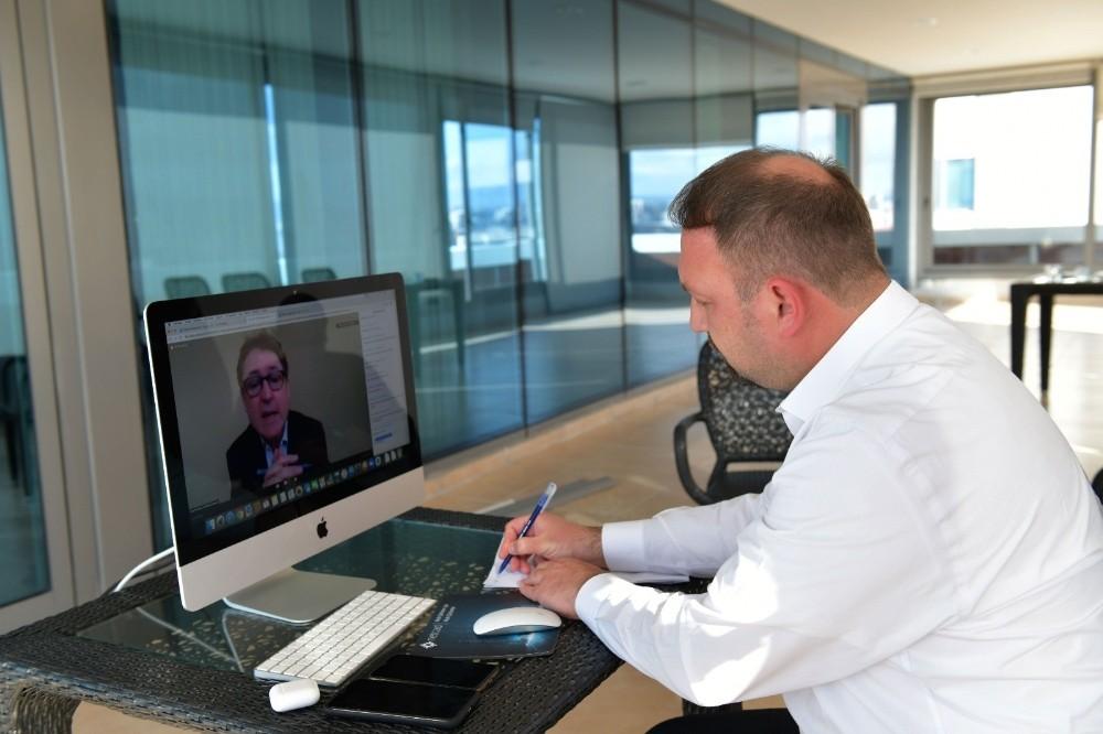 Başkan Gümrükçü, BM'nin online Covid-19 toplantısında