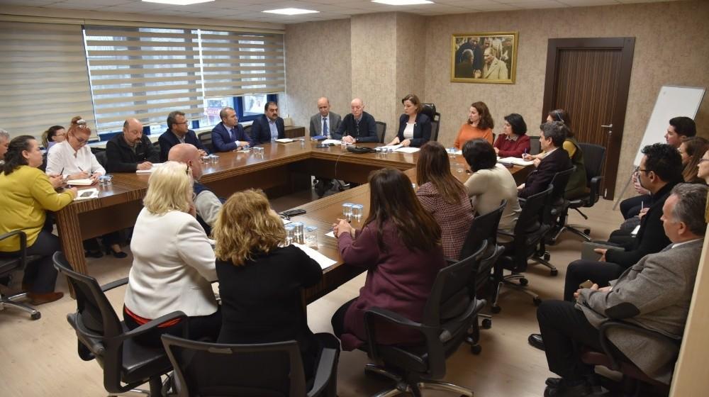 Başkan Hürriyet'ten Korona toplantısı