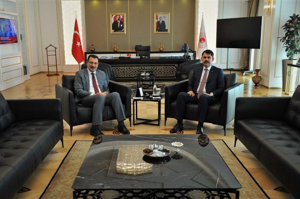Başkan Işıksu, AK Parti Genel Başkan Yardımcısı Yavuz ile buluştu