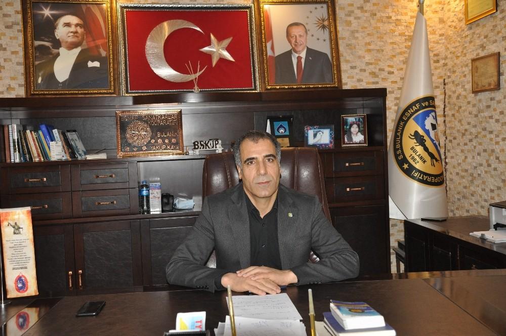 """Başkan Kaya: 25 bin TL esnafa can suyu oldu"""""""