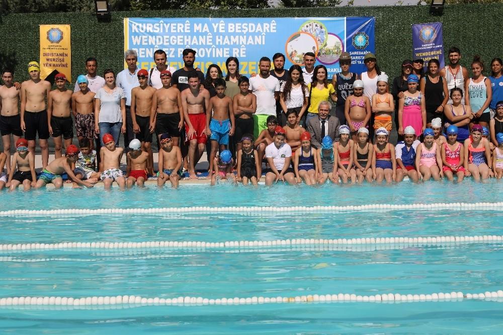 Başkan Mızraklı'dan yaz spor okullarına ziyaret