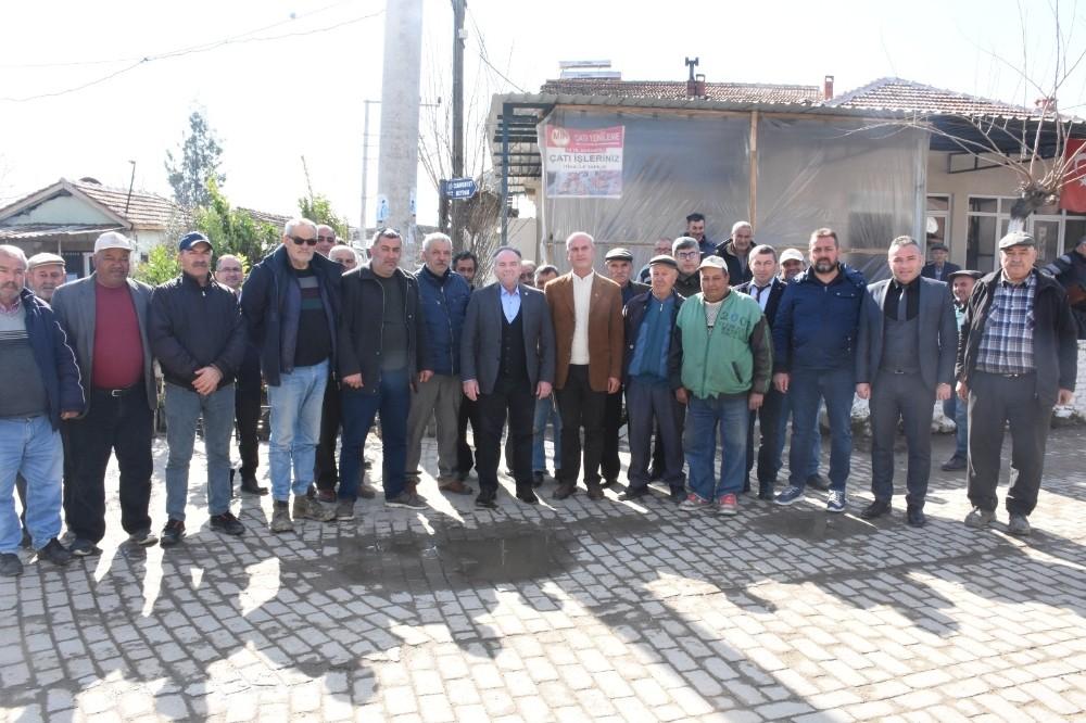 Başkan Öndeş, Turanlar Mahallesi'nde halkla buluştu