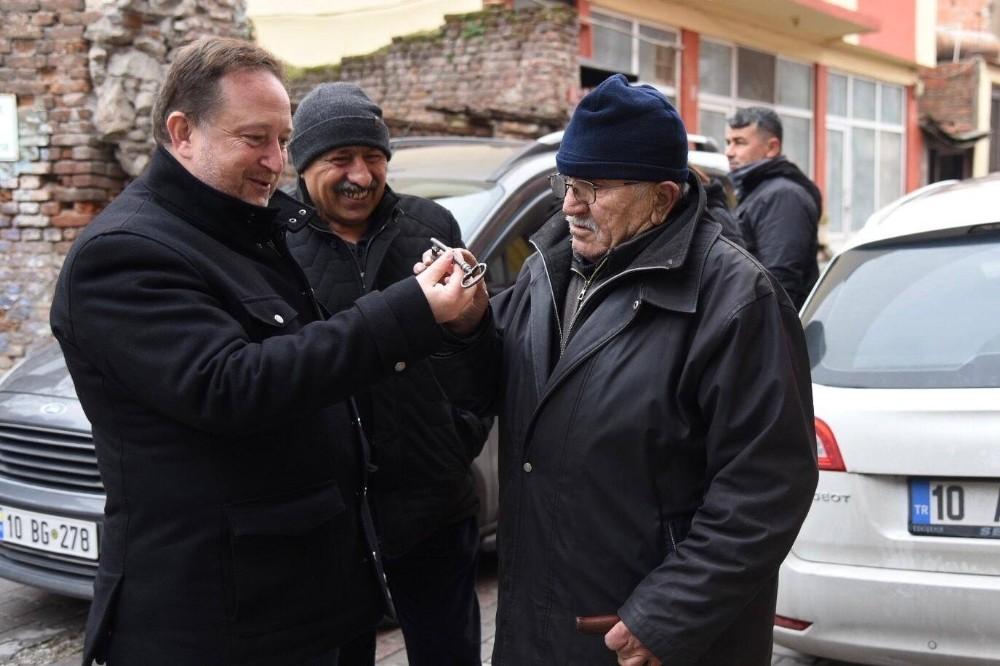 Başkan Orkan mahalle ziyaretlerini sürdürüyor