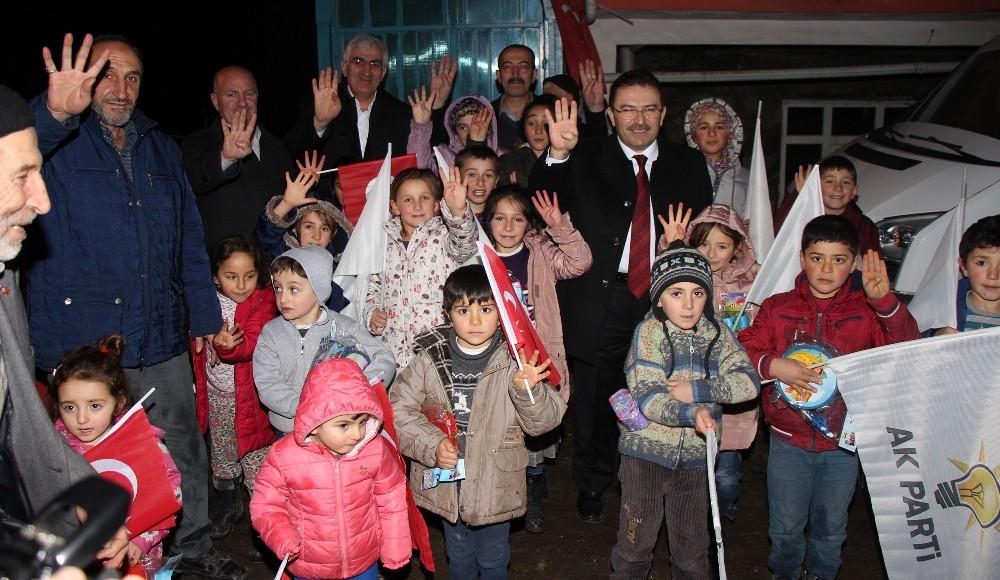 """Başkan Öz: """"Ak Parti, belediyecilikte tüm ezberleri bozmuştur"""""""