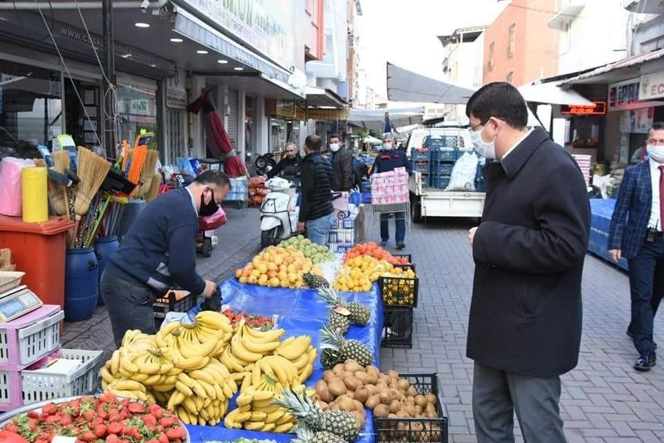 Başkan Özcan, Salı Pazarı'nın taşınması için çağrıda bulundu