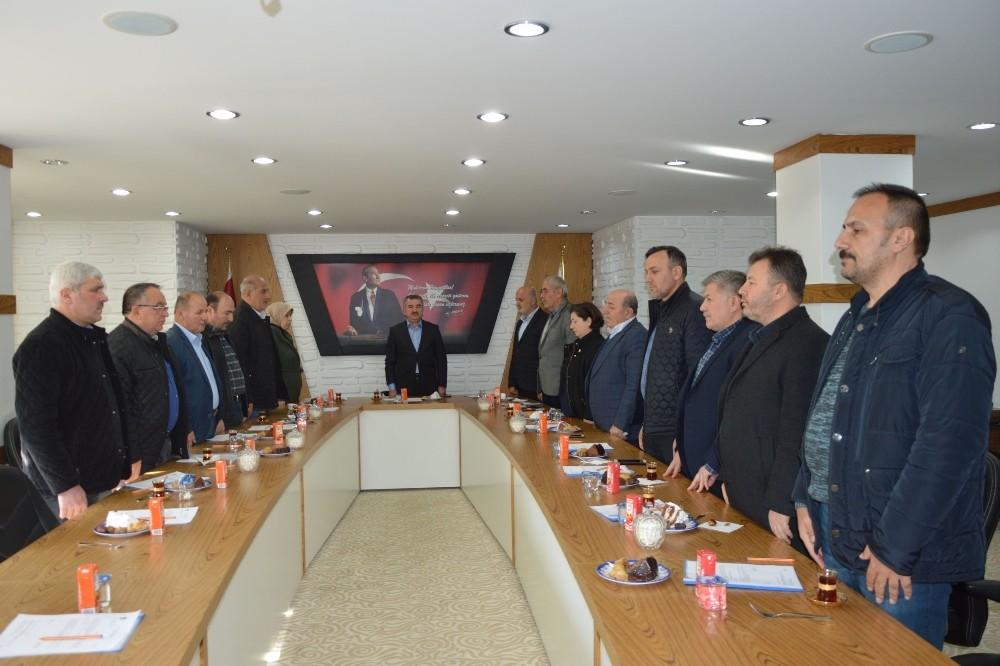 """Başkan Özdemir: """"Devletimizin, milletimizin ve güvenlik güçlerimizin yanındayız"""""""