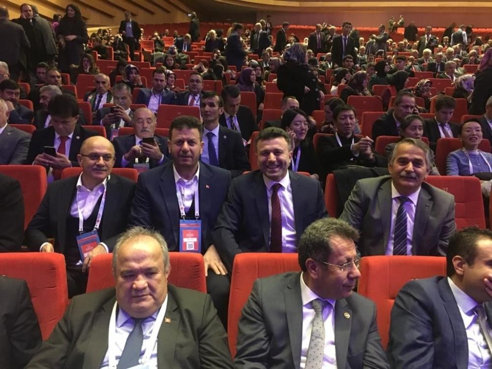 Başkan Özen, Akıllı Şehirler ve Belediyeler kongresine katıldı