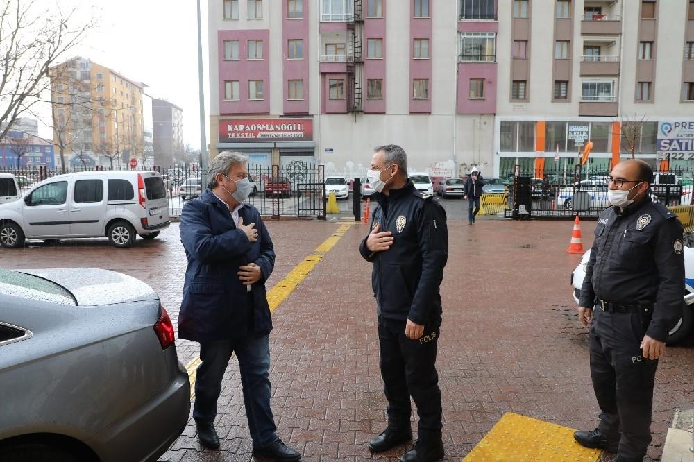 Başkan Palancıoğlu Türk Polis Teşkilatı'nın 175. yılını kutladı