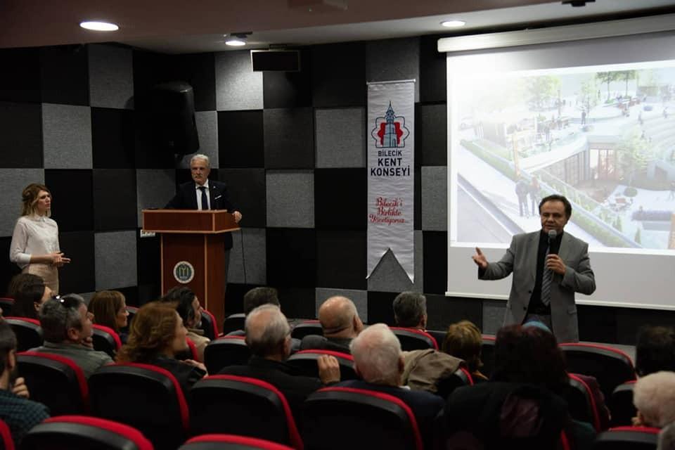 Başkan Şahin aile çay bahçesi projesi hakkında bilgi verdi