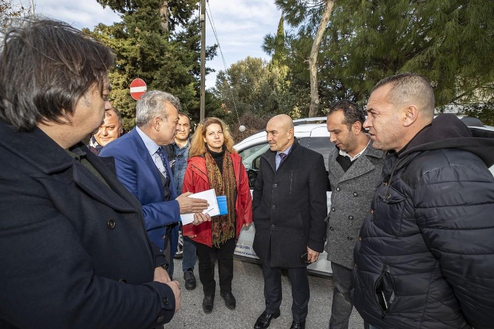 Başkan Soyer Urla'daki çalışmaları denetledi