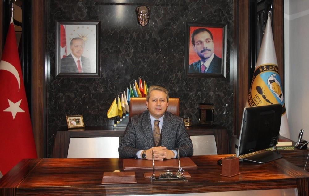 Başkan Taşlı Regaib Kandilini kutladı