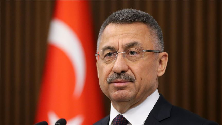 Başkan Yardımcısı Fuat Oktay: Akıncı'nın açıklamaları şehitlerimizin kemiklerini sızlatmıştır
