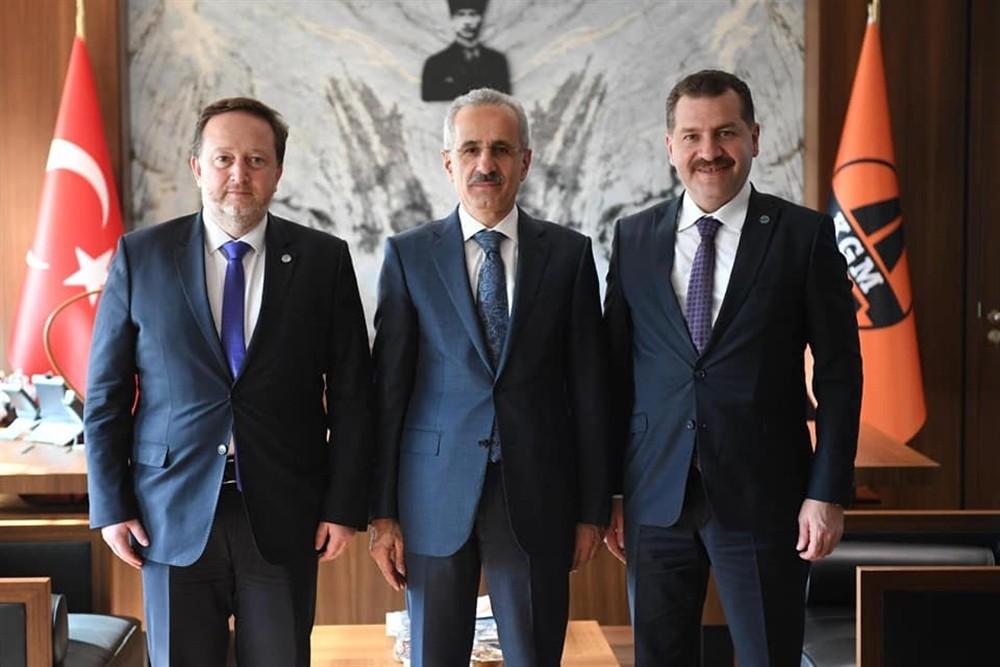 Başkanlar yağlı güreş için Ankara'da