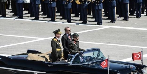 Başkomutan Erdoğan'dan 30 Ağustos konuşması