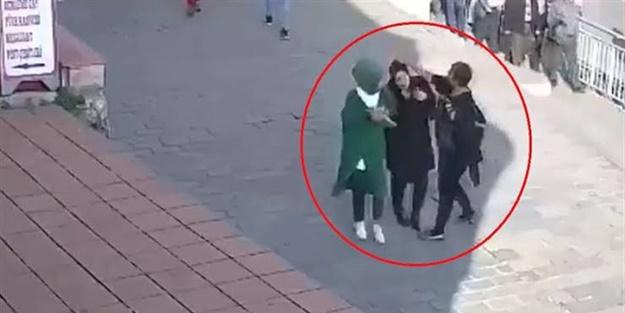 Başörtülü kızlara saldıran kadın hakkında karar verildi