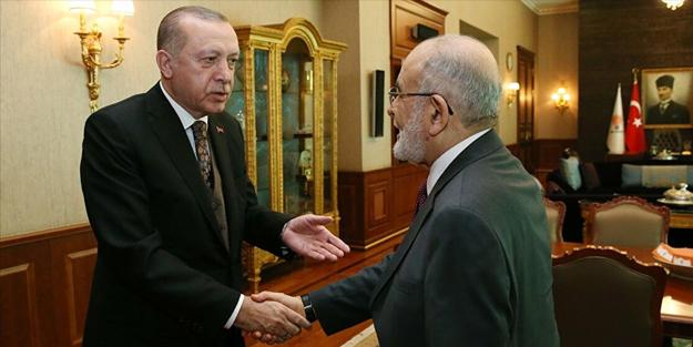 Başta Erdoğan olmak üzere Saadet Partisi'nden tüm liderlere davet