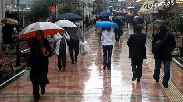 Batı bölgelere yağmur uyarısı