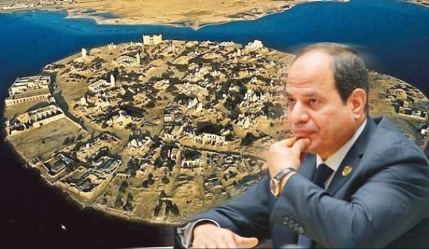 Batı kuklası Körfez'in ve Mısır gözünü Sevakin adasına dikti!