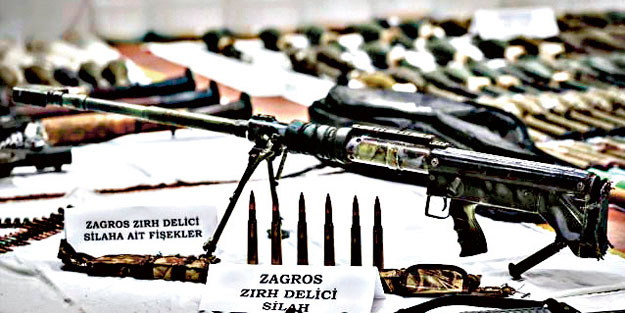 Batı teröristleri 'Kürt Kızılayı' ile besliyor