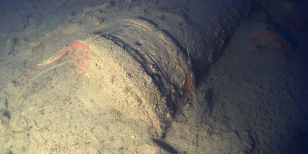 Batık Rus gemisinden tarih çıktı! Tam 2 buçuk ton ağırlığında