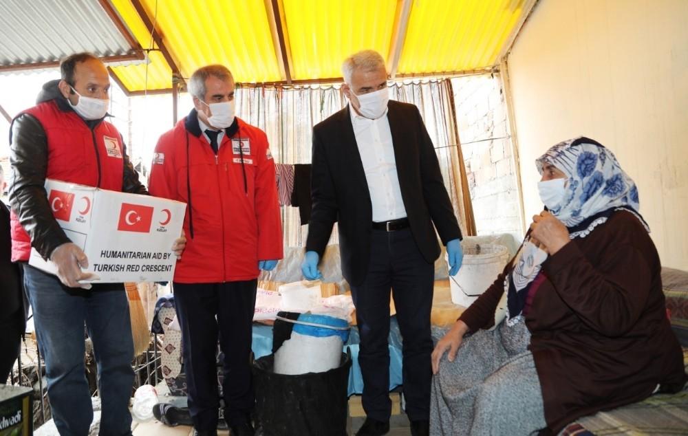 Battalgazi Belediyesi ve Kızılay ihtiyaç sahiplerini unutmadı