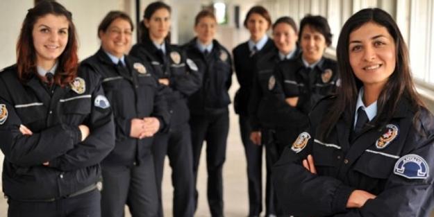 Bayan polislere artık başörtüsü serbest