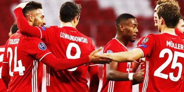 Bayern Münih, Atletico Madrid'i fena sarstı