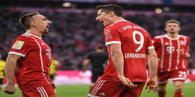 Bayern Münih dolu dizgin!