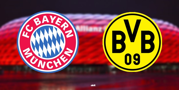 Bayern Münih Dortmund maçı ne zaman saat kaçta hangi kanalda?
