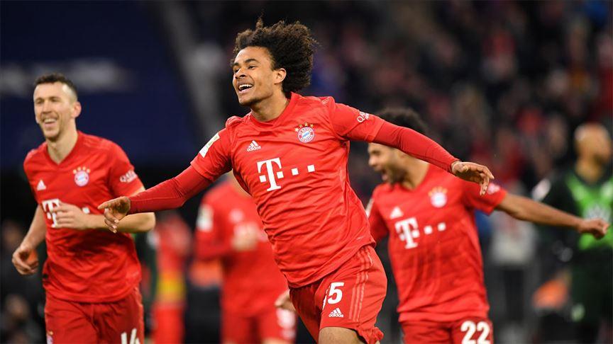 Bayern Münih, ilk devrenin son maçında Wofsburg'u 2-0 yendi