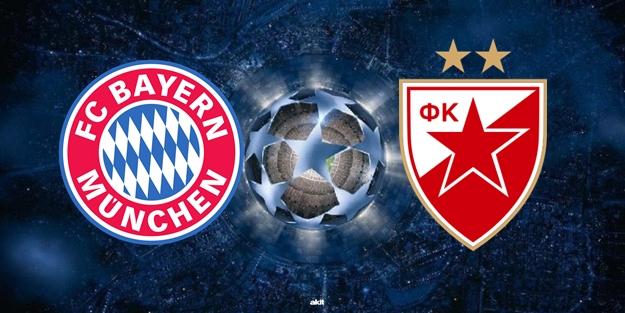 Bayern Münih Kızılyıldız Şampiyonlar Ligi maçı saat kaçta hangi kanalda?